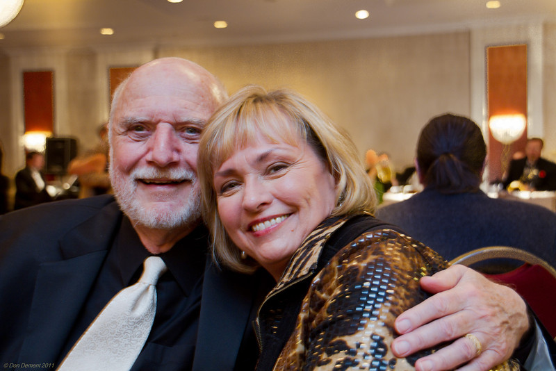 Doug Snure and Connie Scott