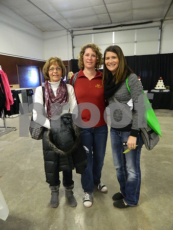 left to right: Karen Lamberg, Karla Rasmussen, and Tanya List