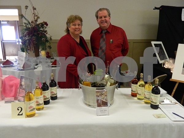 Bill and Cindy Bush with Garden Winery