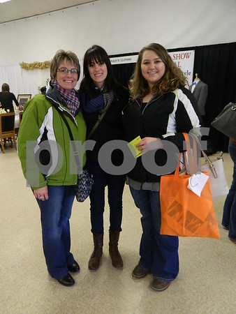 left to right: Cindy DeWall, Danielle Poppinga, and Caithyn DeWall