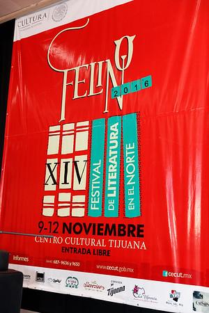 FELINO en el CECUT / 10.11.2016