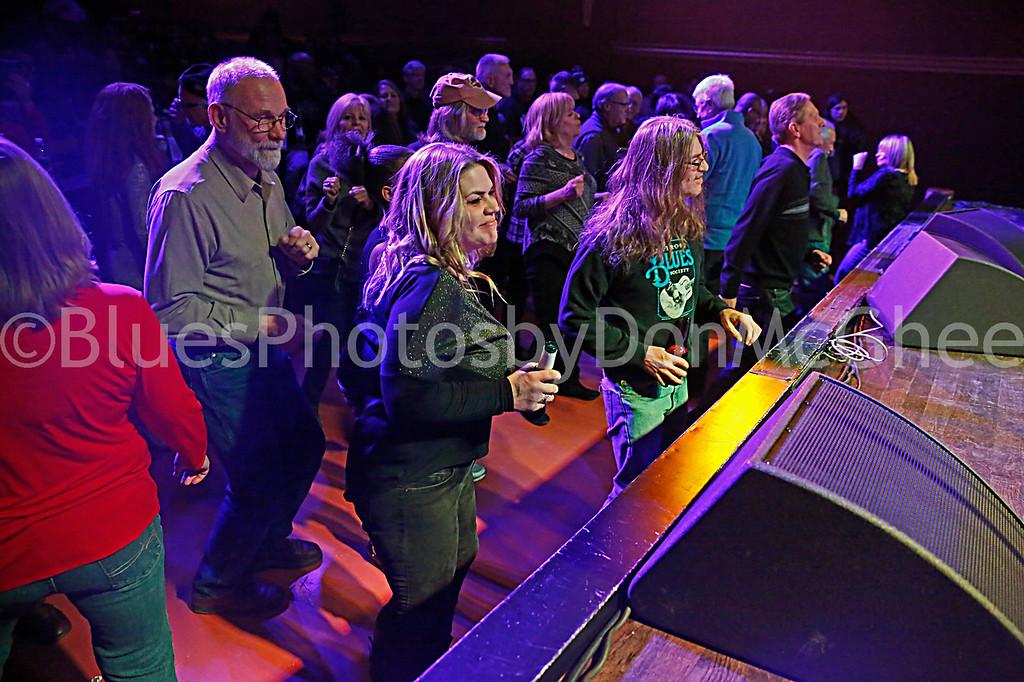 dancing to Bobby Murray Band