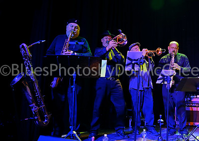 horn section - Big Ray & the Motor City Kings