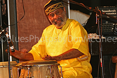 Bean Blossom 2005 percussionist