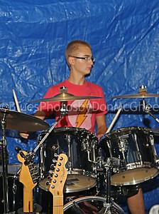 Bean Blossom jam - drummer
