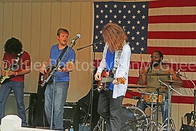 Benito Dibartoli, Wade Baker, Caerson Diersing, Anthony Lee Carson Diersing band