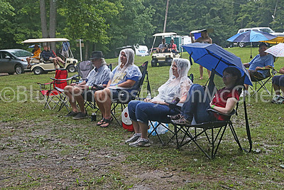 Blues in the Rain at Hippy Hill stage