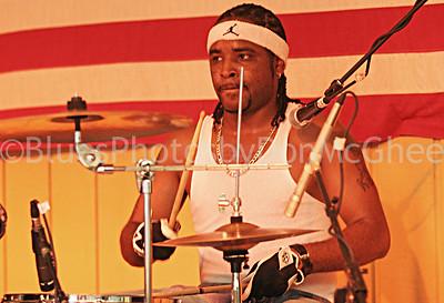 Bean Blossom 2005 drummer