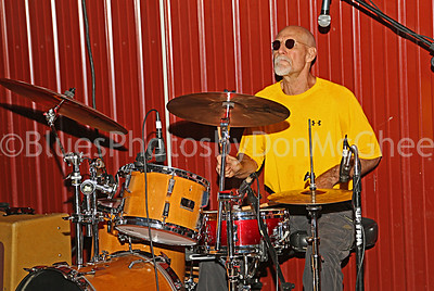 drummer Hank Mowery and the Hawktones