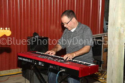 keyboard player Hank Mowery and The Hawktones