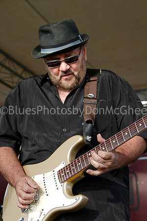 Cliff McClanahan Front Street Blues Band