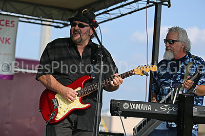 Cliff McClanahan, Rick Warner Front Street Blues Band