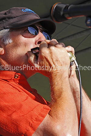 Chuck Luscombe Thirsty Perch Blues Band
