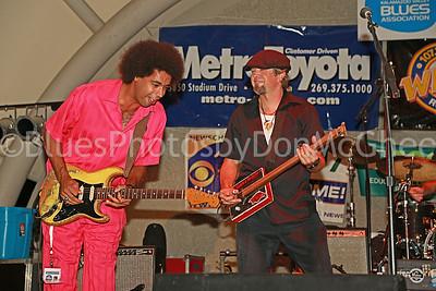 Selwyn BIrchwood, JP Soars  Florida's Blues Best - IBC band and Albert King guitar award winners - 2013 and 2009