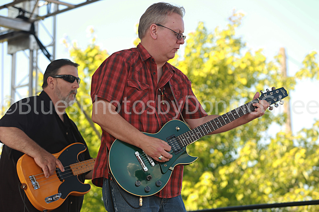 "Terry ""Hoot"" Gibson, Jim Patterson<br /> Bosco Gee band"