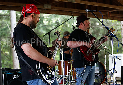 Al Siwarski, Tim Cosher and Freddie August - Al Savage and the Everyday People Band