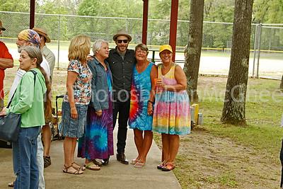 Joshua Davis & fans