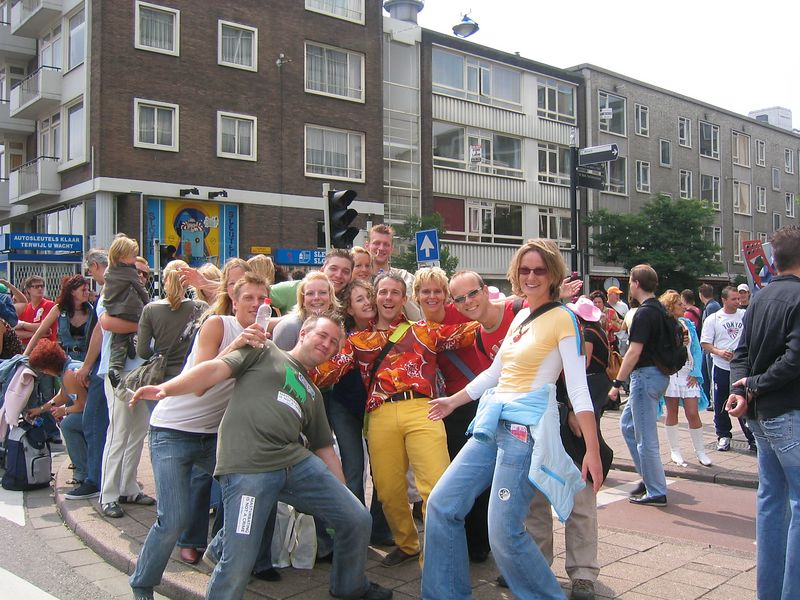The party crew! Bas, Anja, Arjen, Isabel, Astrid, martin, Sjoerd, Petra and  more!