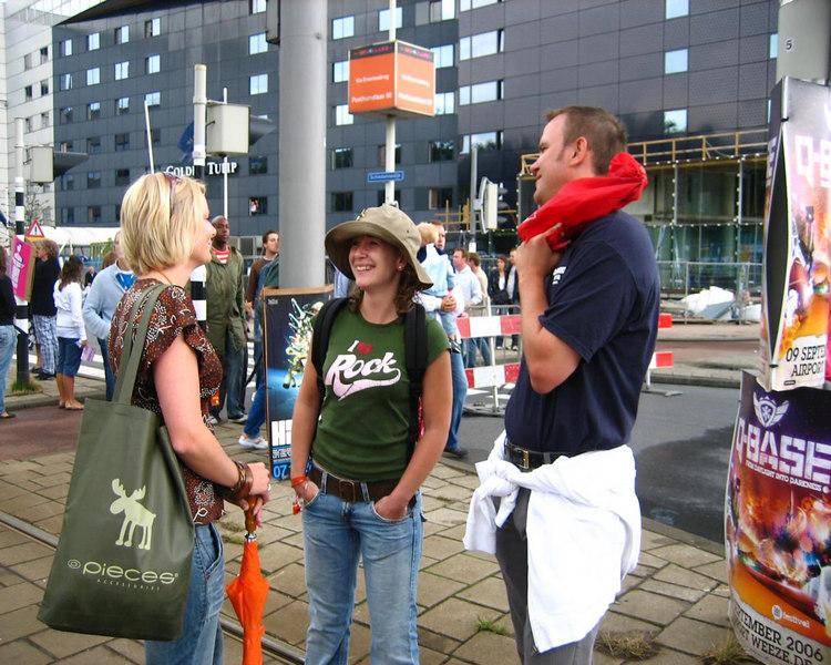 Pauline, Anke and Sjoerd
