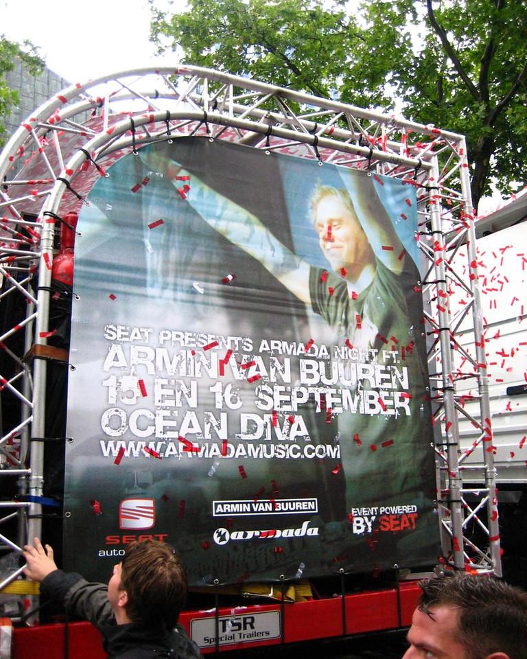 Armin van Buuren truck by Armada Music (his label)
