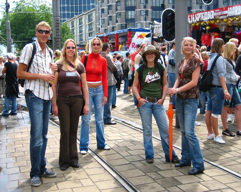 Arjen, Renske, Petra, Anke and Pauline