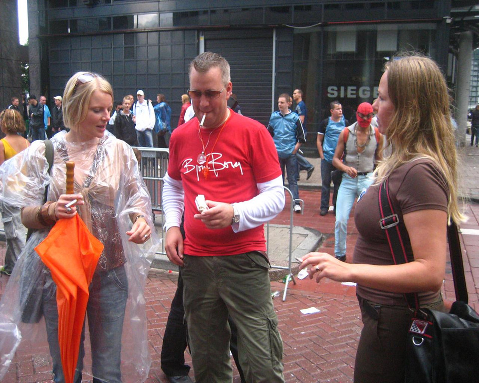 Pauline, Jan and Renske