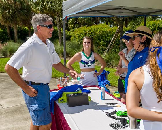 FGCU Golf Tournament for Cheer Squad 9/29/2018