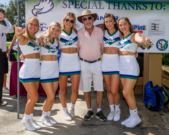 FGCU Golf Tournament for Cheer Squad 9/29/2018