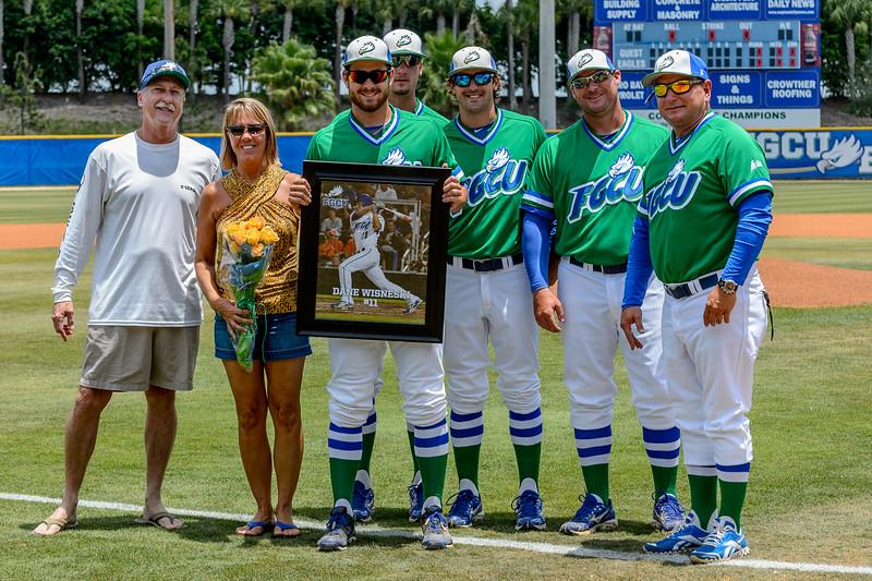 FGCU v Stetson Baseball (Senior Day) 5/18/2013