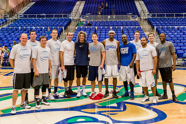 Alumni Hoops 02/08/2014