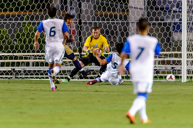 FGCU vs FIU Men's Soccer 09/07/2013