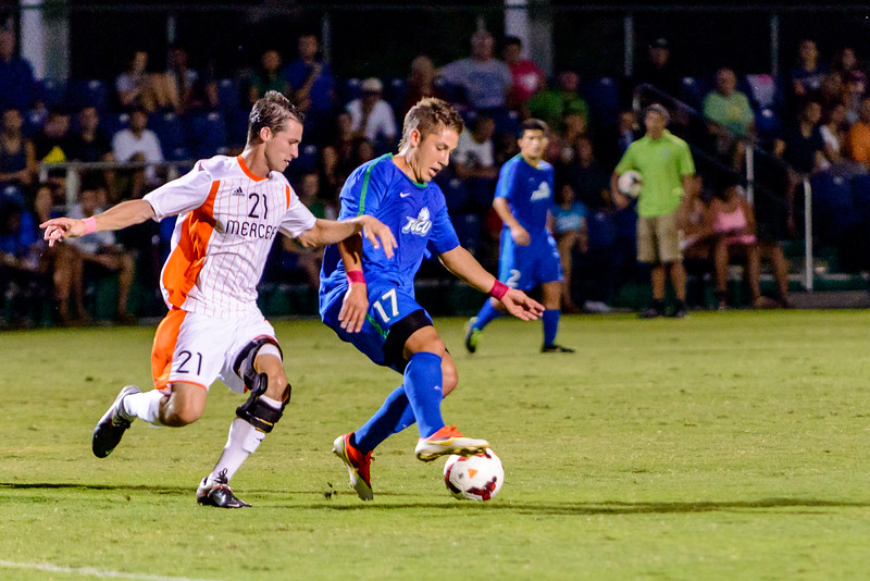 FGCU vs Mercer Men's Soccer 10/18/2013