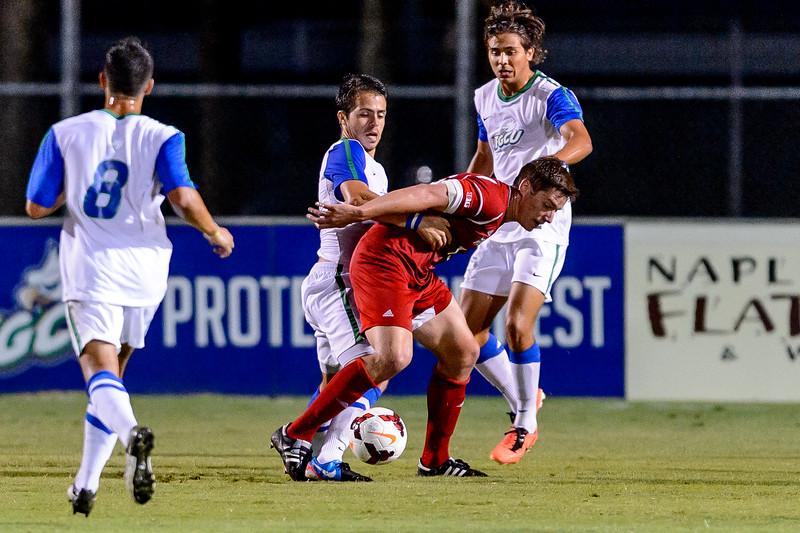 FGCU v Wisconsin Men's Soccer 09/14/2013