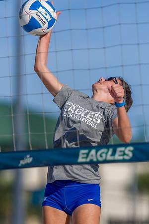 Beach Volleyball Practice 10/4/2019