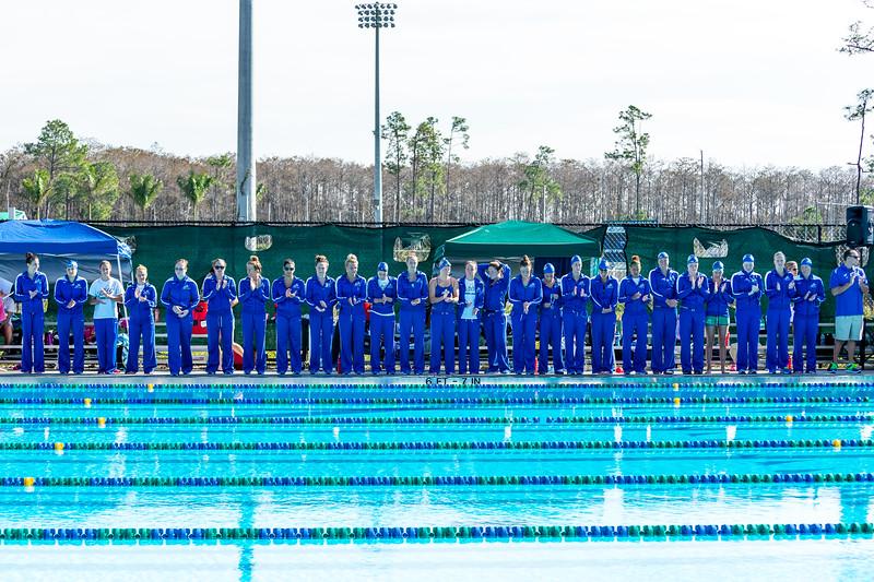 FGCU Swimming & Diving Meet 01/05/2013