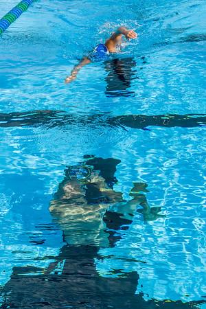Swim practice with Rick Underwater 11/17/2015