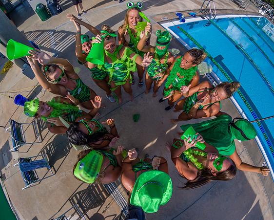 Swimming Blue-Green Scrimmage 09/27/2019