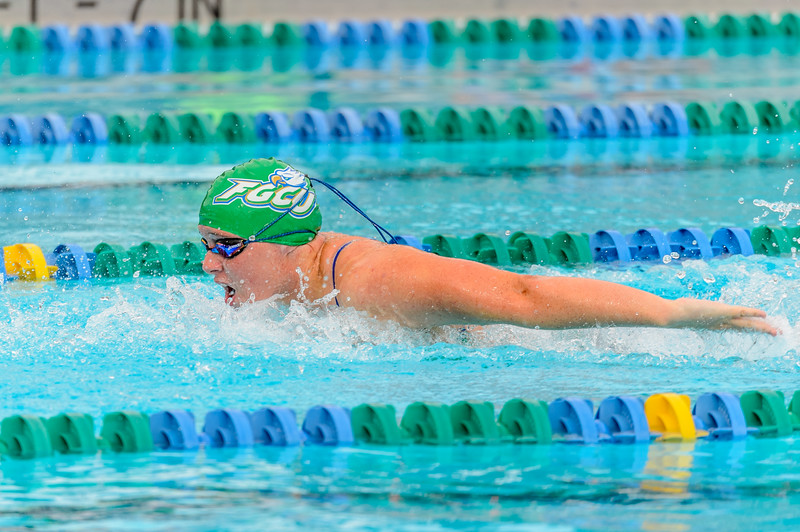 FGCU vs UNF Swimming & Diving 10/05/2013