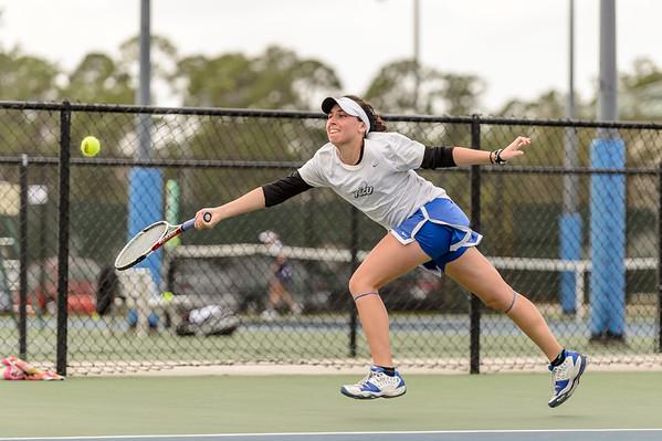 FGCU Women's Tennis Invitational 1/19/2013