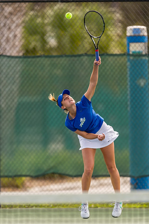 FGCU v Iowa State Women's Tennis 01/17/2014
