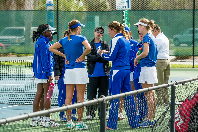 FGCU v Iowa State Women's Tennis 01/17/2014