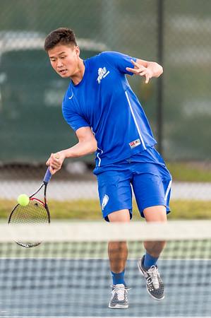 FGCU vs SMU Men's Tennis 01/24/2014