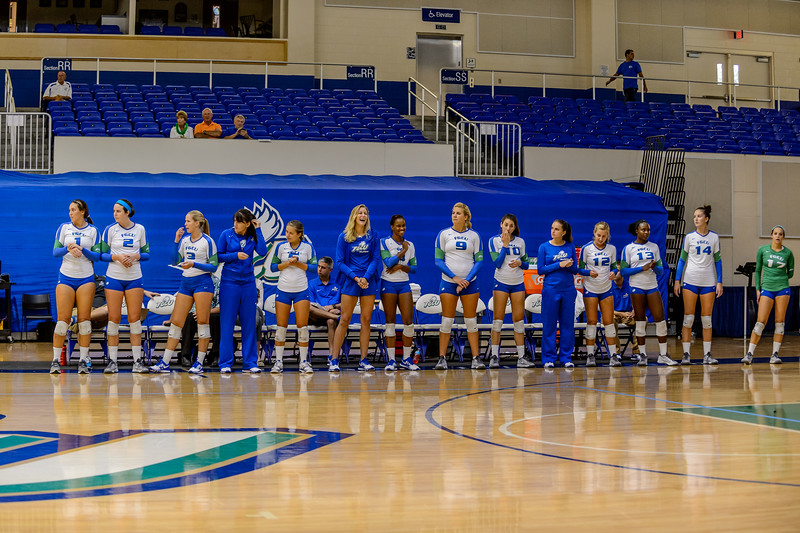 FGCU vs Central Arkansas Volleyball 09/13/2013