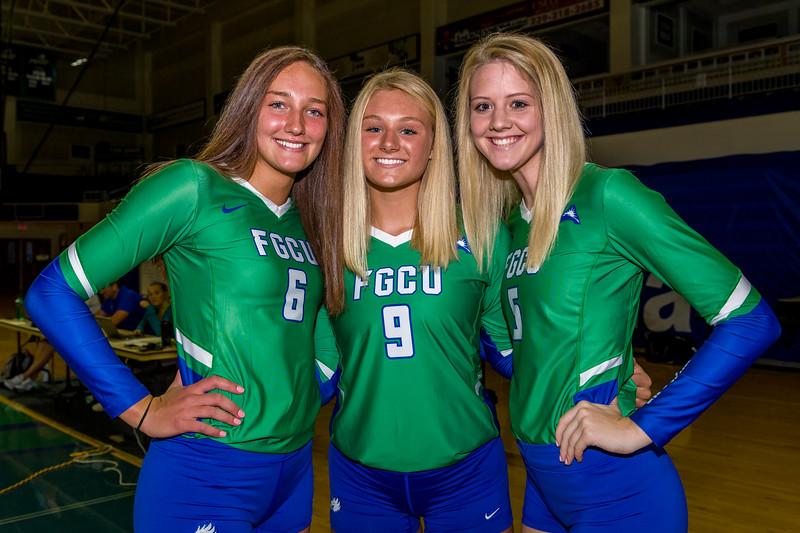 FGCU Volleyball 8/15/2019