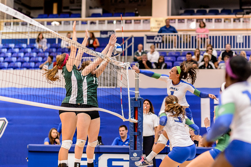 FGCU v Stetson Volleyball 11/09/2013