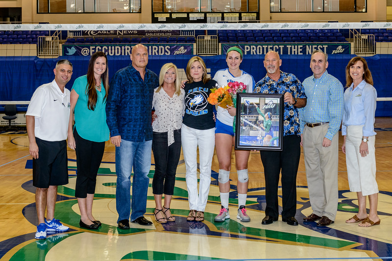 Senior Day Volleyball 11/09/2013