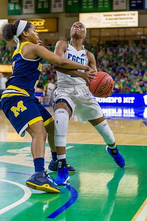 FGCU v Michigan NIT Semi-Final 3/31/16