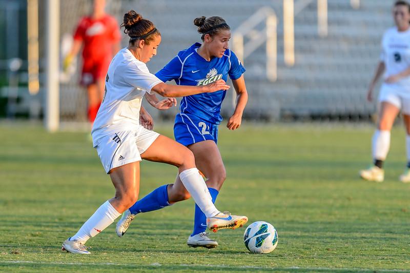 FGCU vs Davidson Women's Soccer 08/30/2013