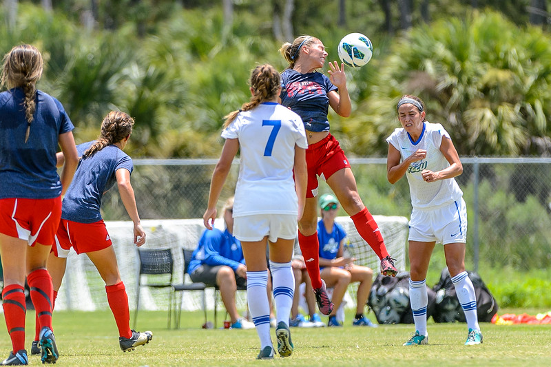 FGCU vs FAU Women's Soccer Exhibition 08/16/2013