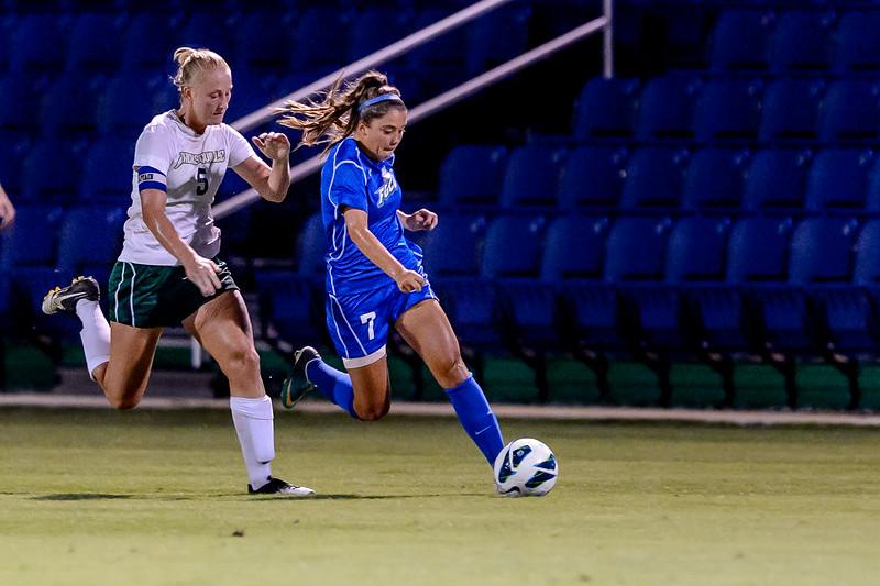 FGCU vs Jacksonville University Women's Soccer 09/27/2013
